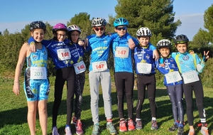 Run and bike de Marignane du 9 février.